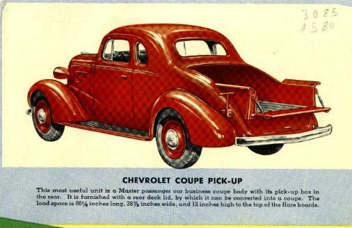 Chevrolet Pickup 1947 foto - 5