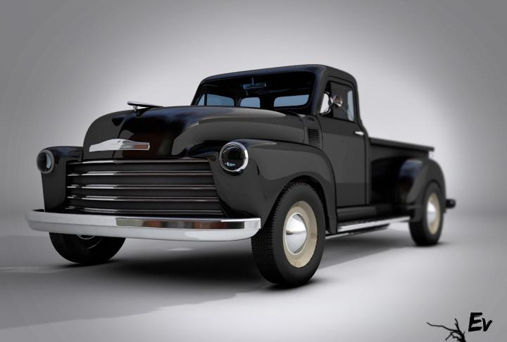 Chevrolet Pickup 1948 foto - 2