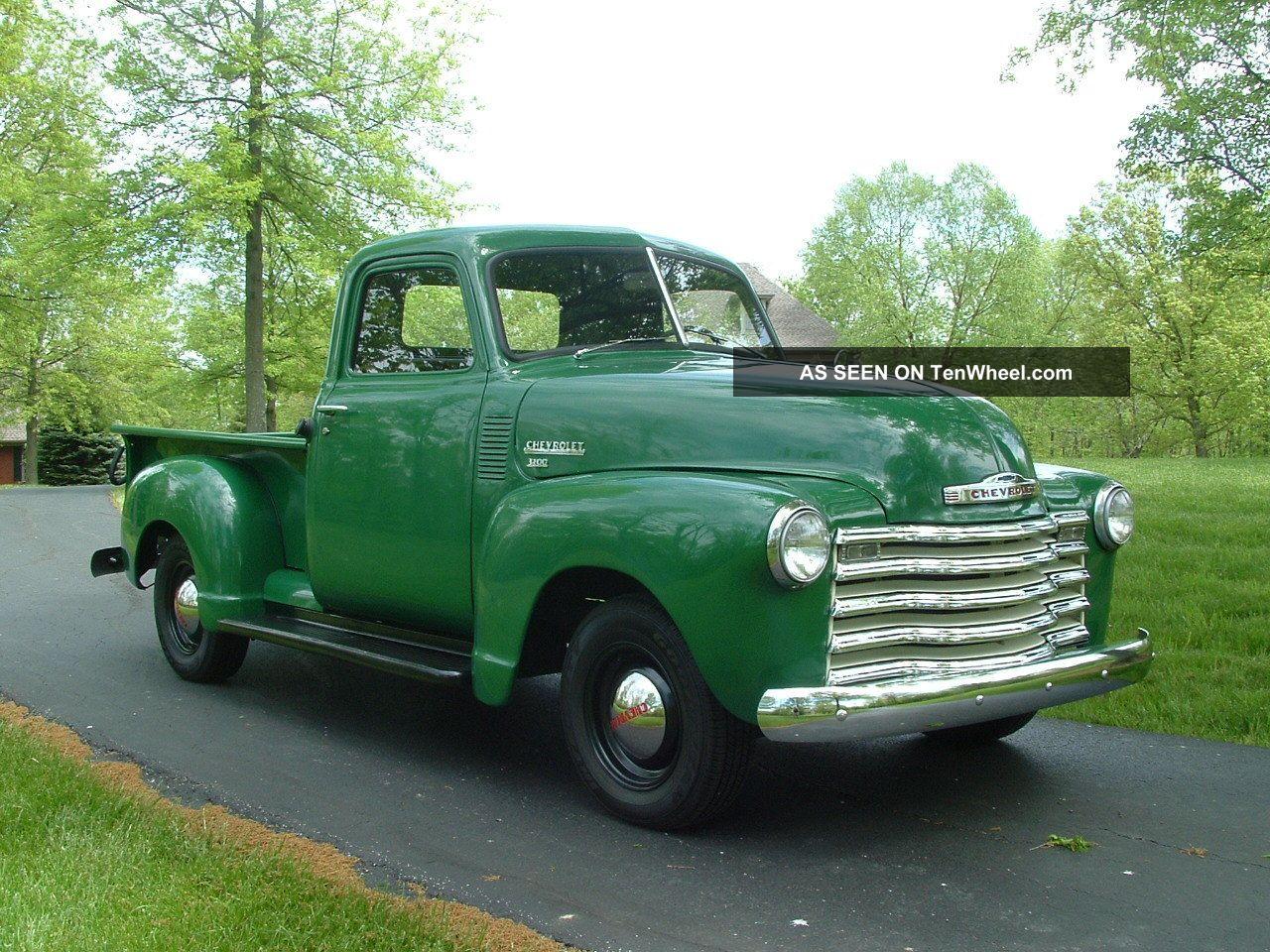 Chevrolet Pickup 1949 foto - 4