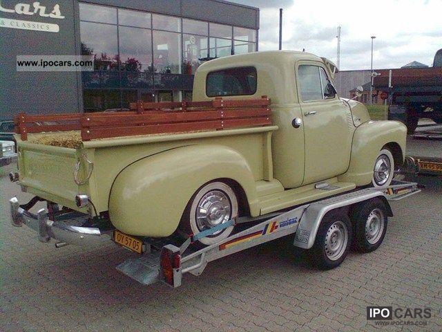 Chevrolet Pickup 1953 foto - 2