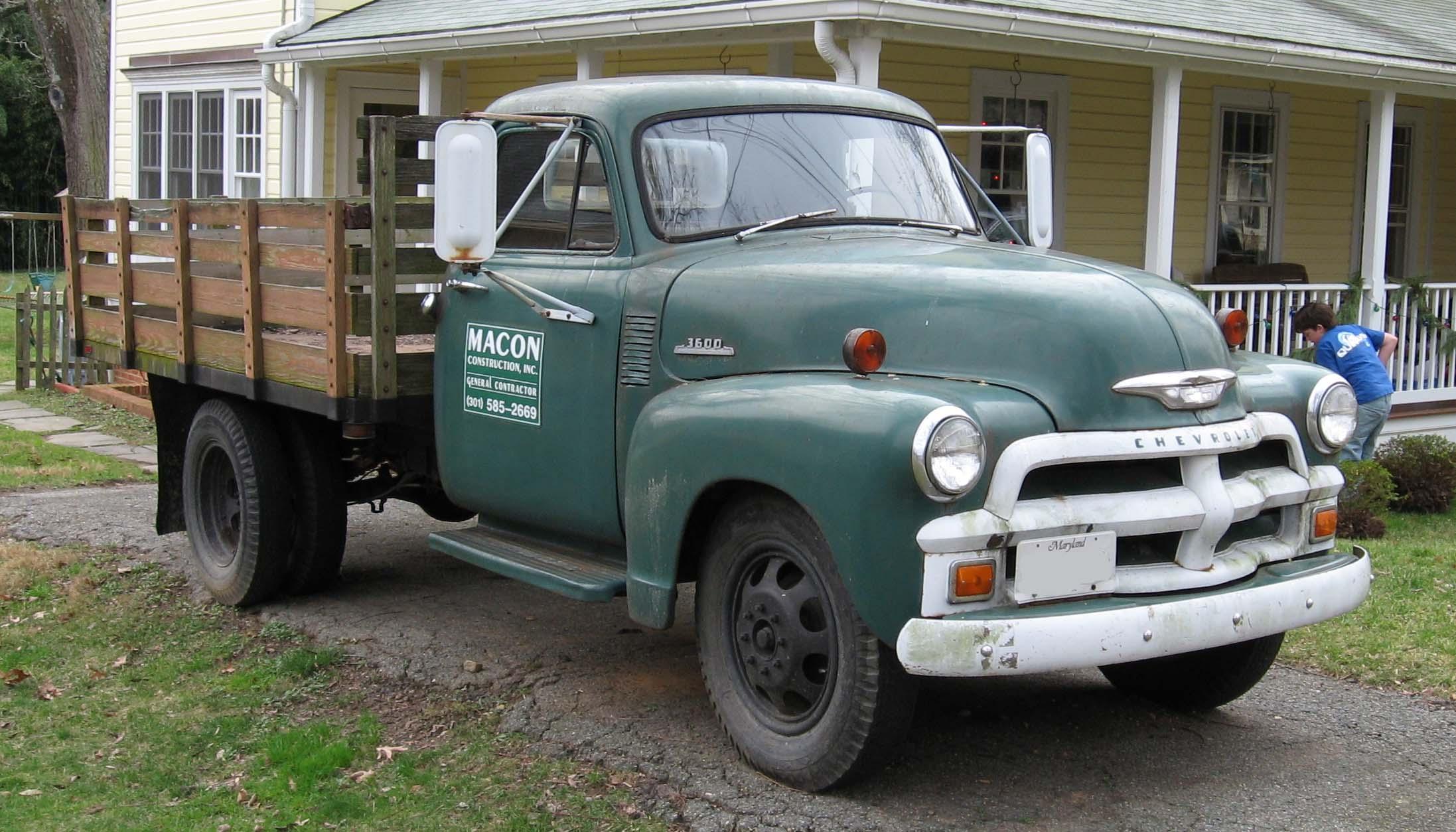Chevrolet Pickup 1954 foto - 4