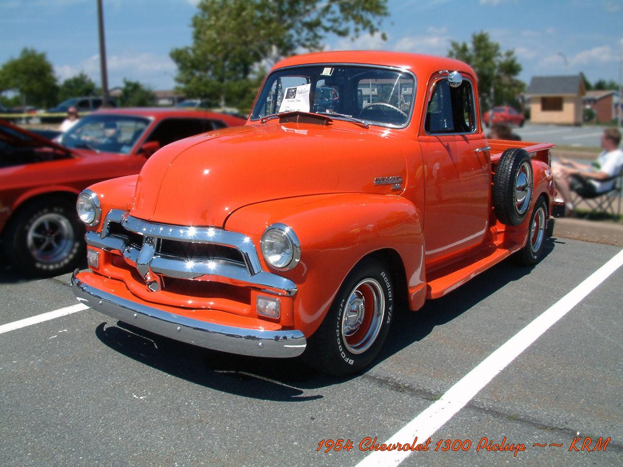 Chevrolet Pickup 1954 foto - 5
