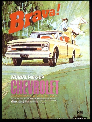 Chevrolet Pickup 1969 foto - 1