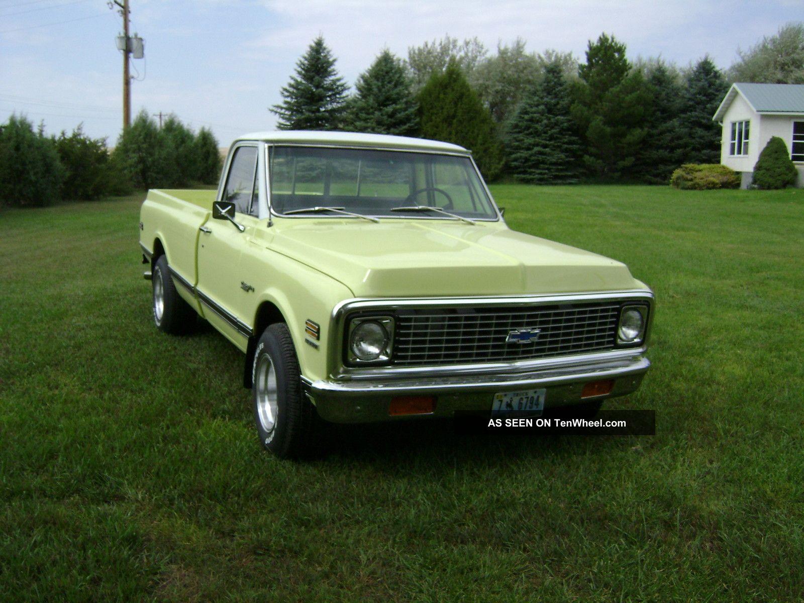 Chevrolet Pickup 1972 foto - 3