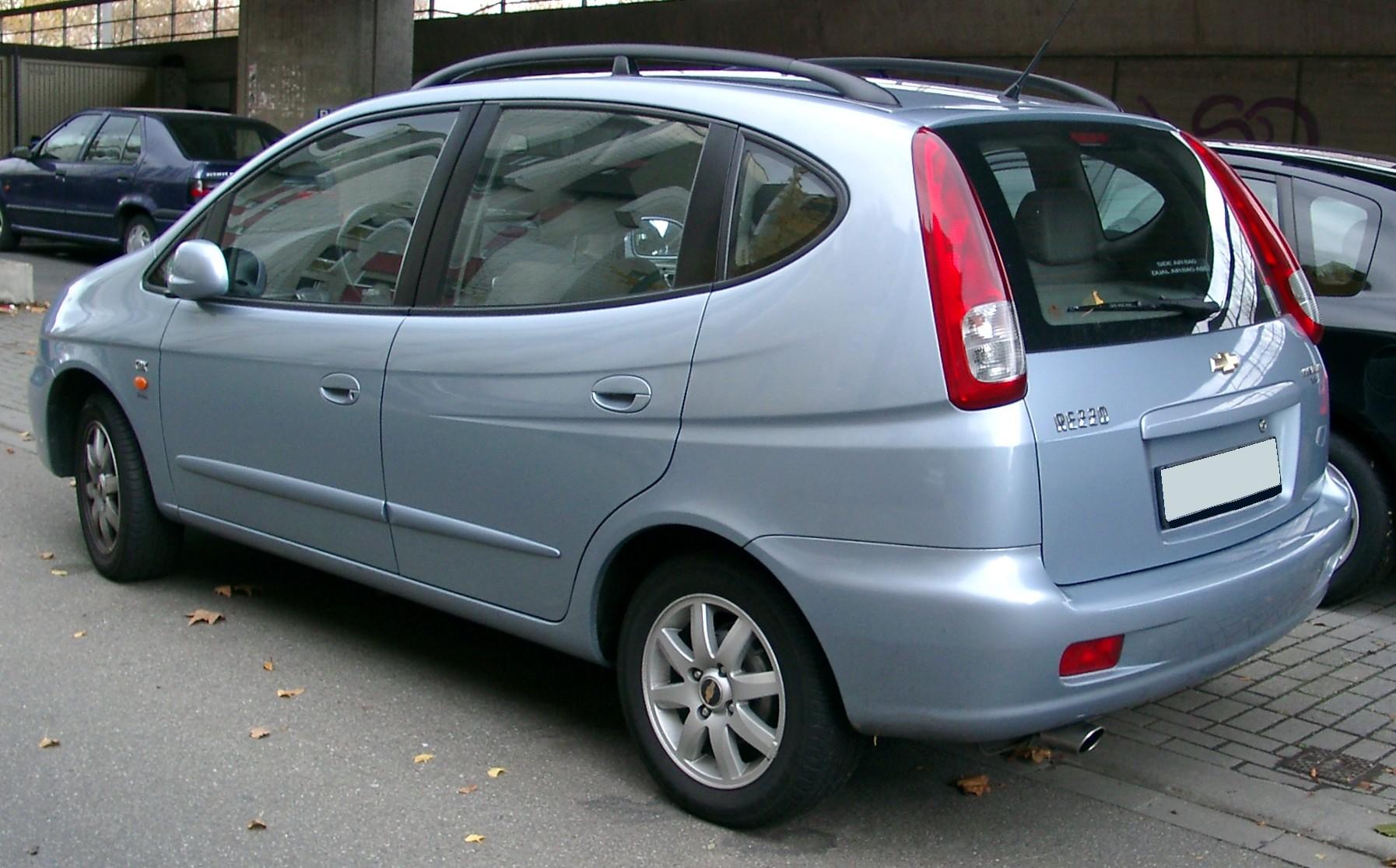 Chevrolet Rezzo 2006 foto - 1