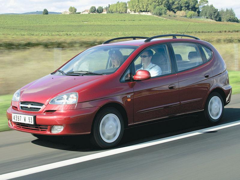 Chevrolet Rezzo 2007 foto - 5