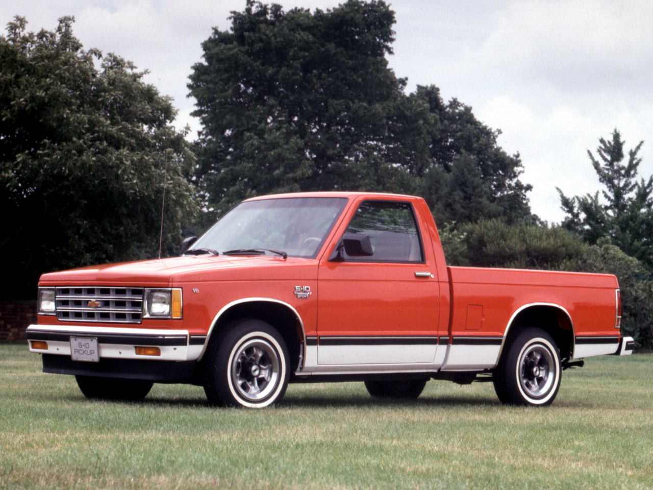 Chevrolet S 10 1982 foto - 2
