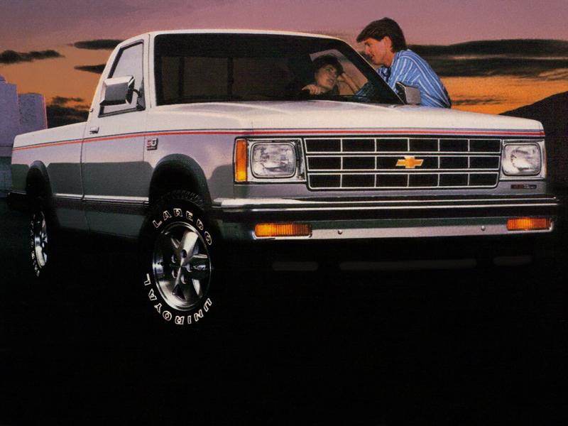Chevrolet S 10 1982 foto - 3