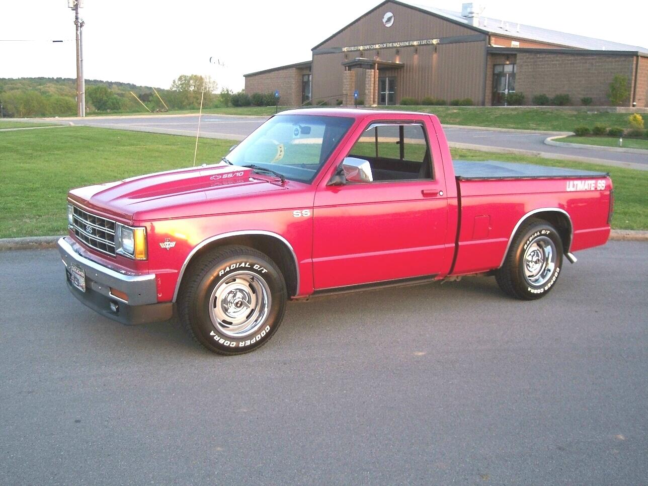 Chevrolet S 10 1983 foto - 2