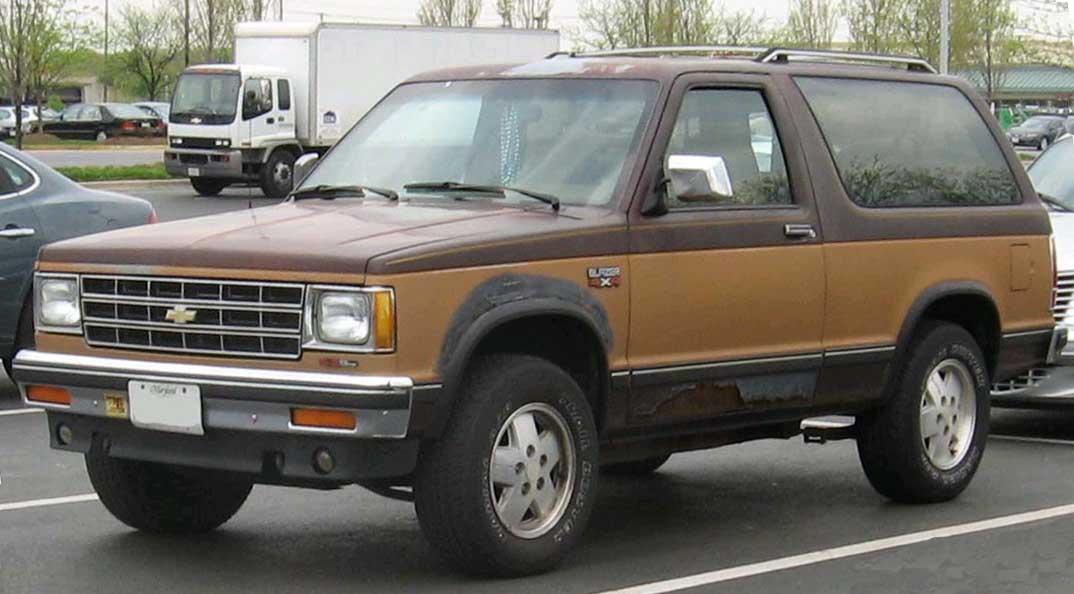 Chevrolet S 10 1983 foto - 5