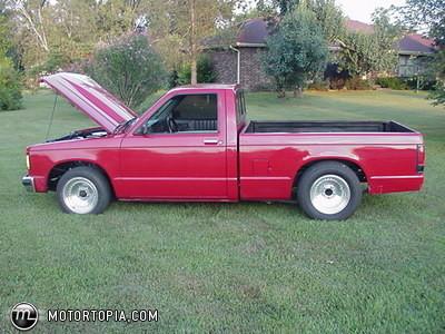 Chevrolet S 10 1986 foto - 1