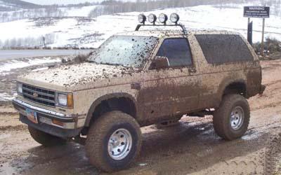 Chevrolet S 10 1987 foto - 5
