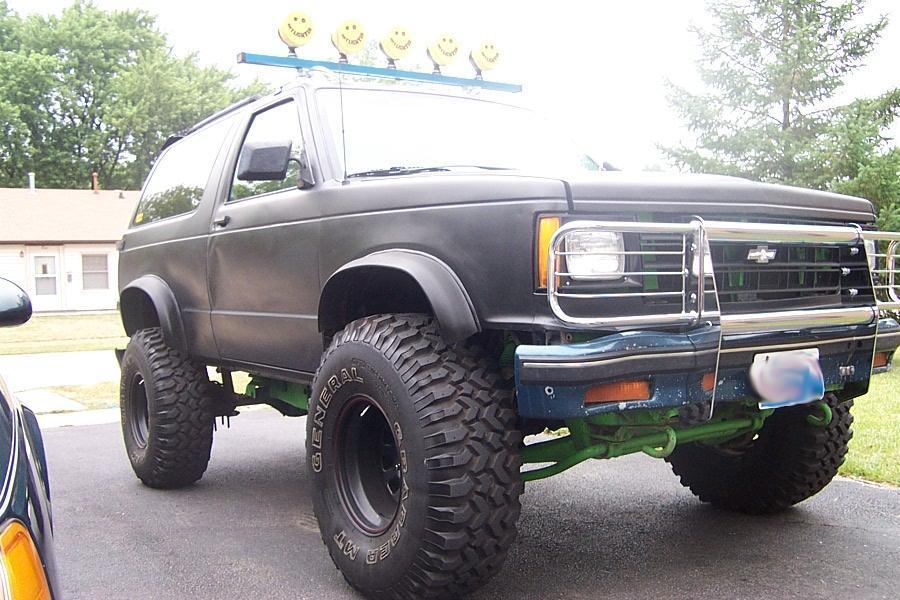 Chevrolet S 10 1990 foto - 4
