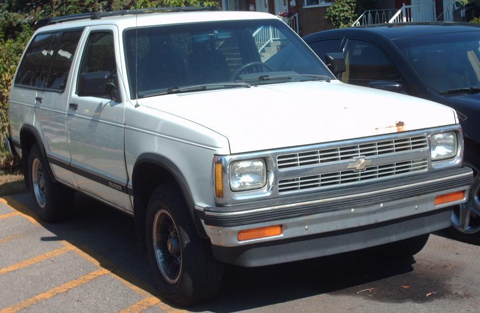 Chevrolet S 10 1991 foto - 3