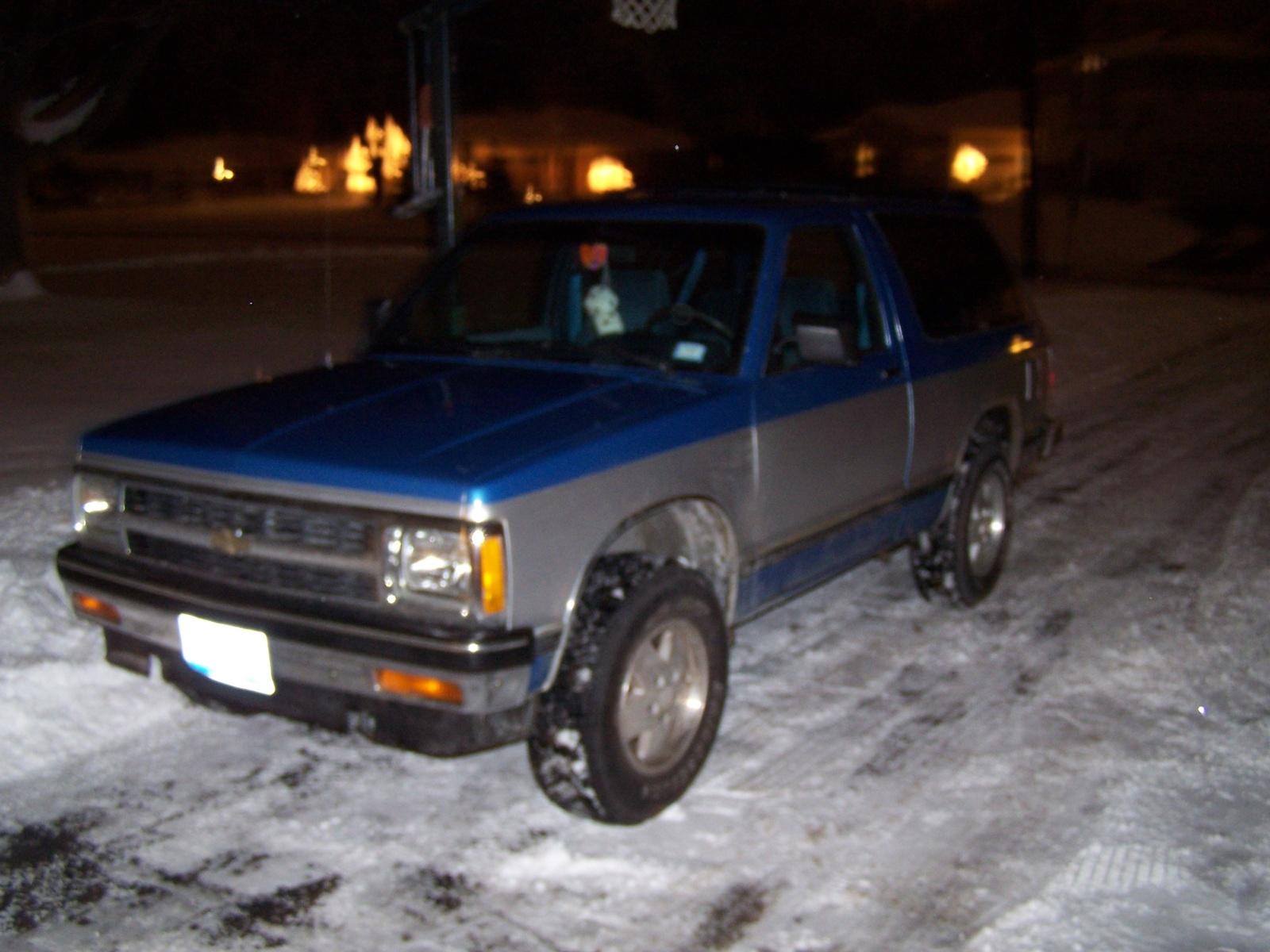 Chevrolet S 10 1991 foto - 5