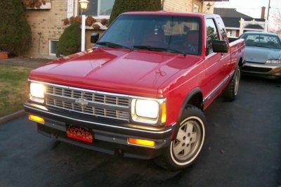 Chevrolet S 10 1992 foto - 5