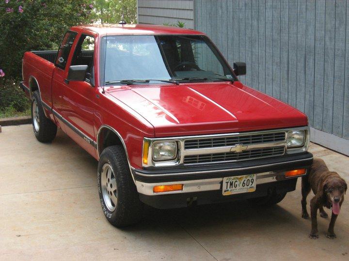 Chevrolet S 10 1995 foto - 1