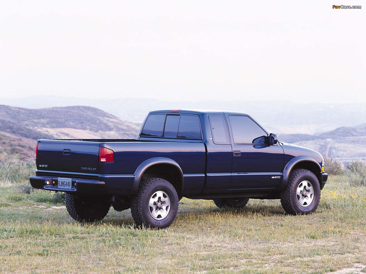 Chevrolet S 10 1998 foto - 5