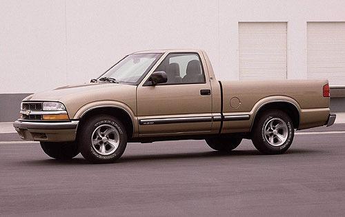 Chevrolet S 10 2001 foto - 5