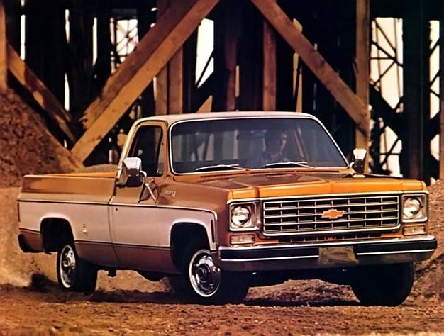 Chevrolet Silverado 1976 foto - 2