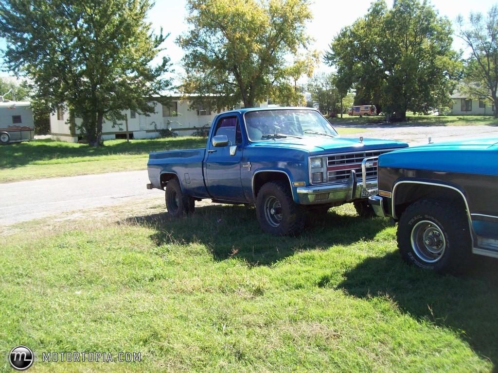 Chevrolet Silverado 1983 foto - 2