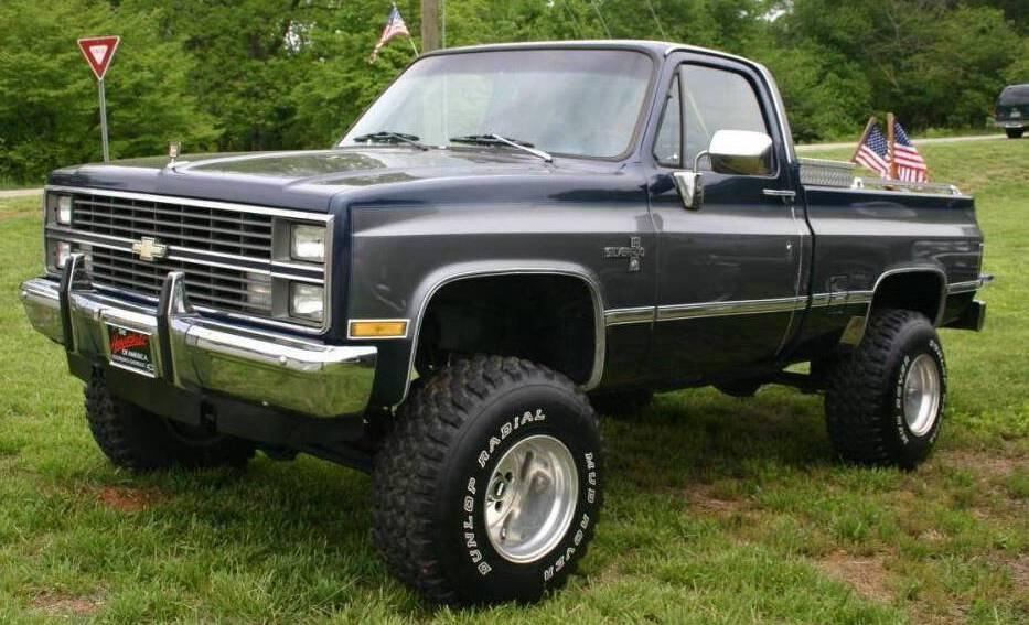 Chevrolet Silverado 1983 foto - 3
