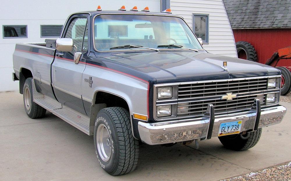 Chevrolet Silverado 1987 foto - 2