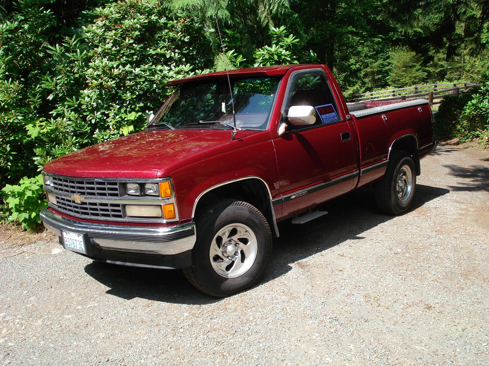 Chevrolet Silverado 1989 foto - 1