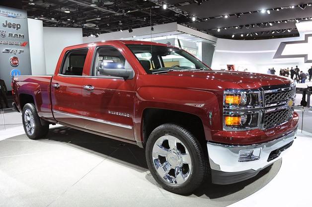 Chevrolet Silverado 2015 foto - 1