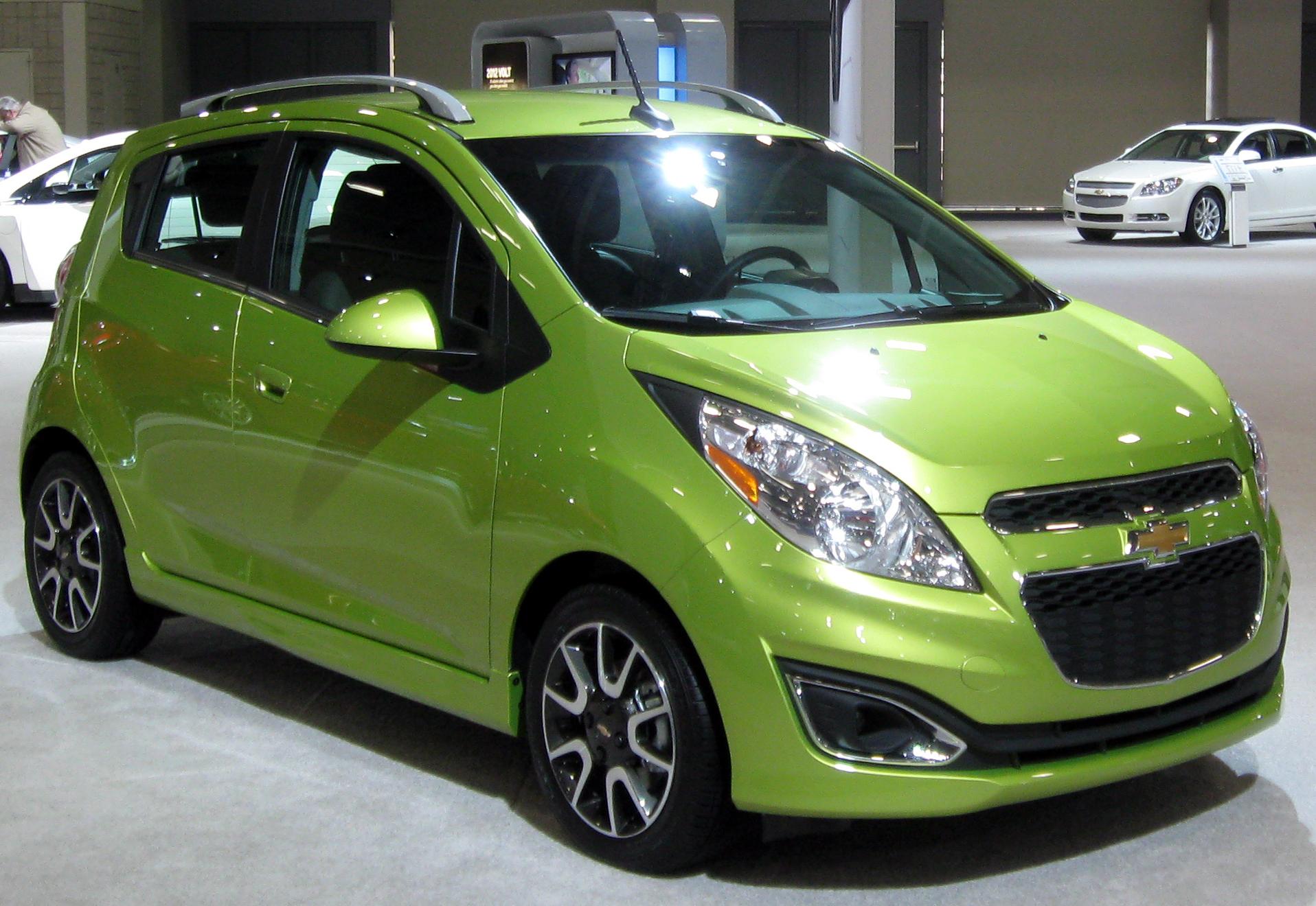 Chevrolet Spark 2012 foto - 1