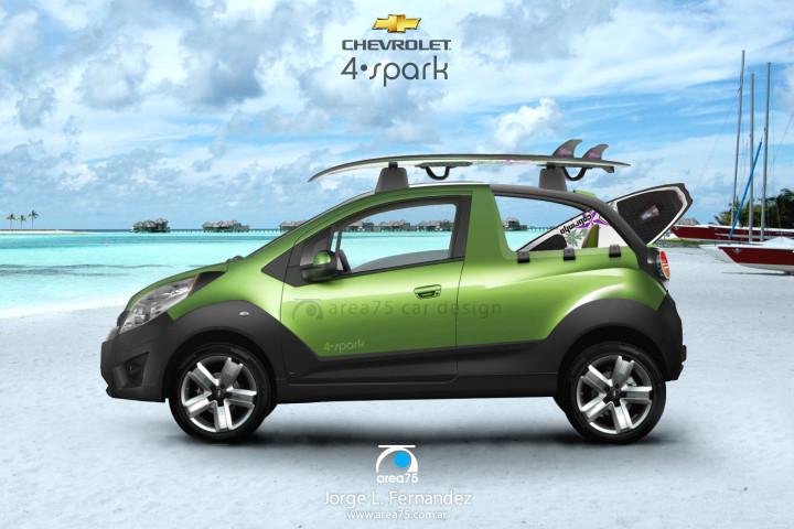 Chevrolet Spark 2015 foto - 2