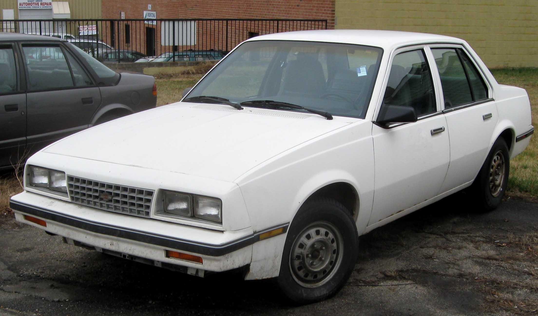 Chevrolet Spectrum 1989 foto - 1