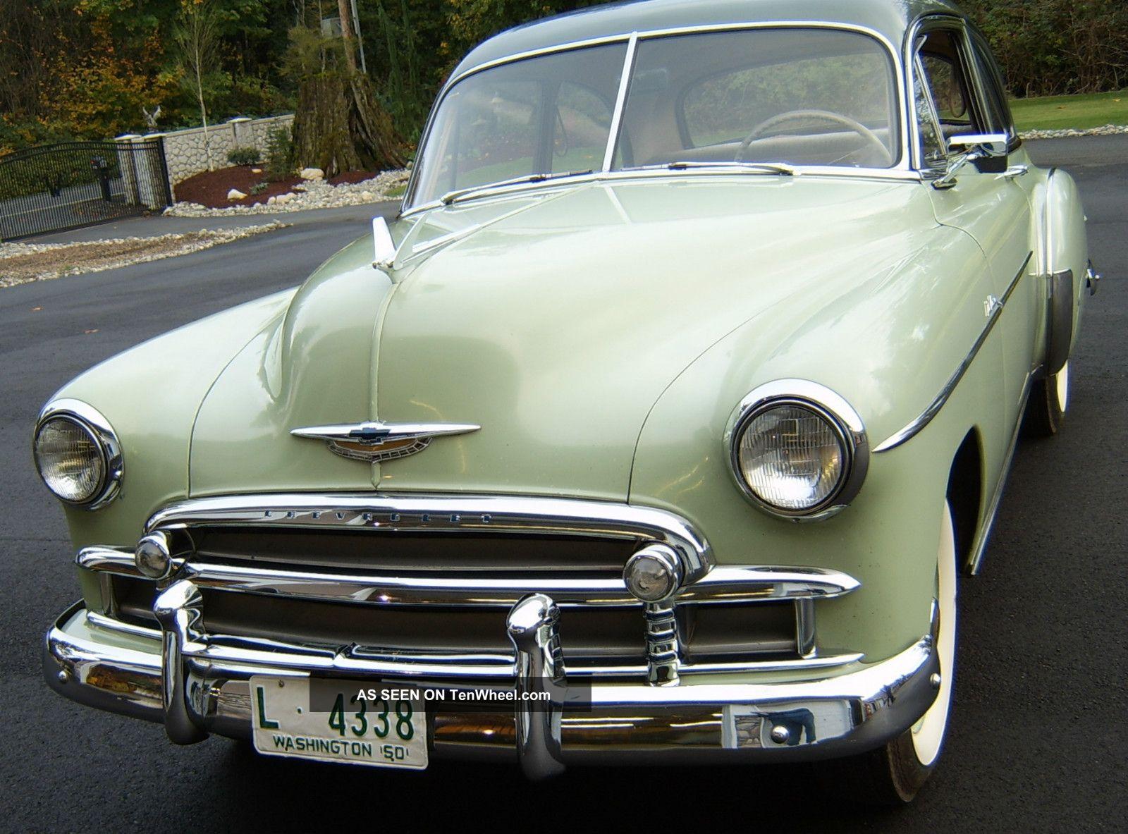 Chevrolet Styleline 1950 foto - 5