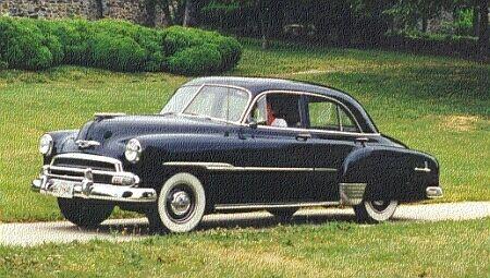 Chevrolet Styleline 1951 foto - 2