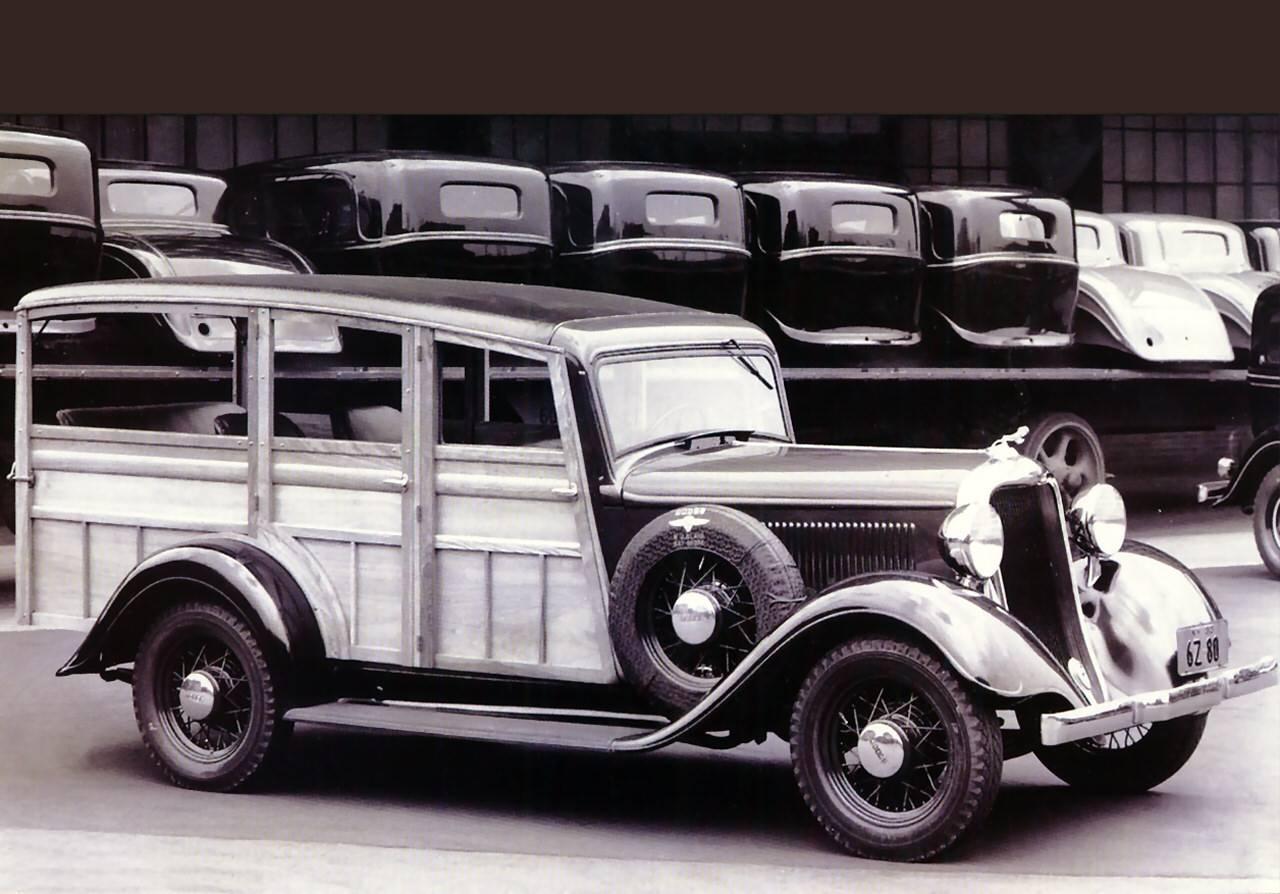 Chevrolet Suburban 1933 foto - 2