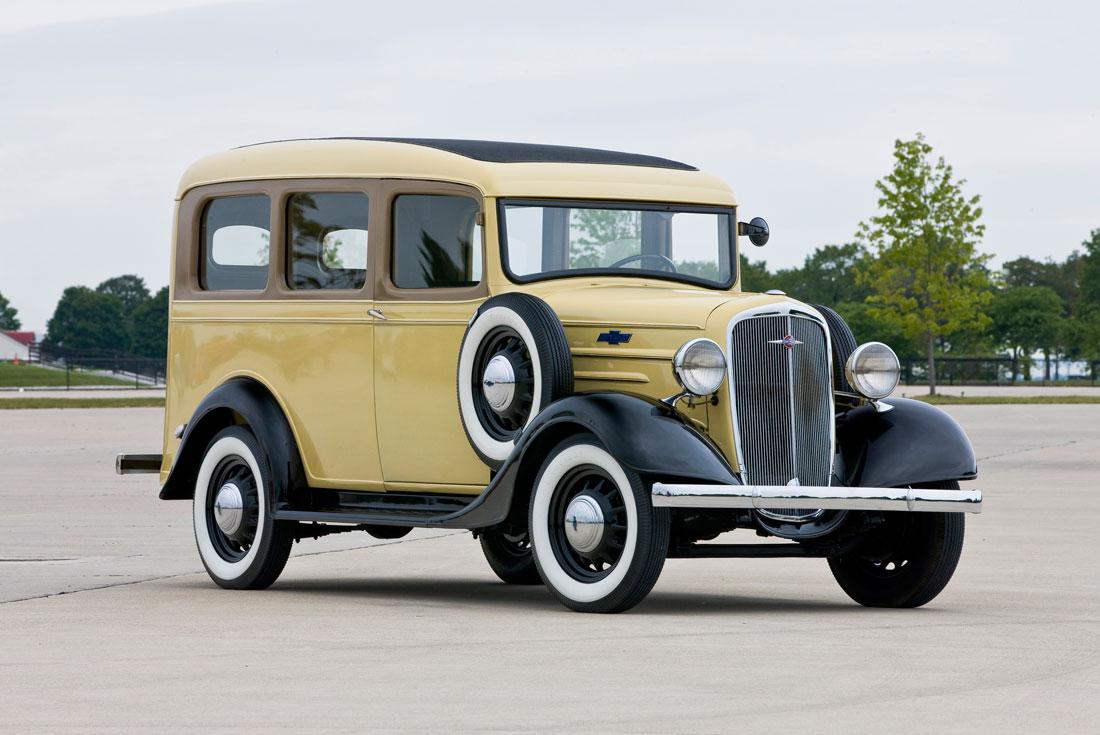 Chevrolet Suburban 1935 foto - 2