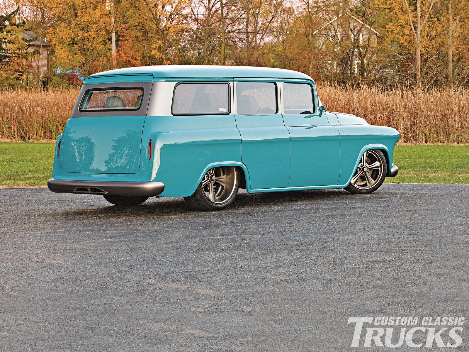 Chevrolet Suburban 1957 foto - 4