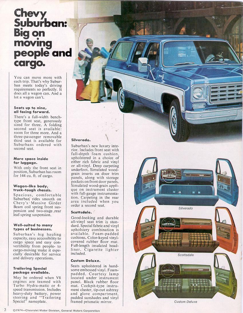 Chevrolet Suburban 1975 foto - 1