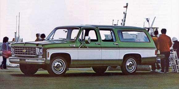 Chevrolet Suburban 1975 foto - 5
