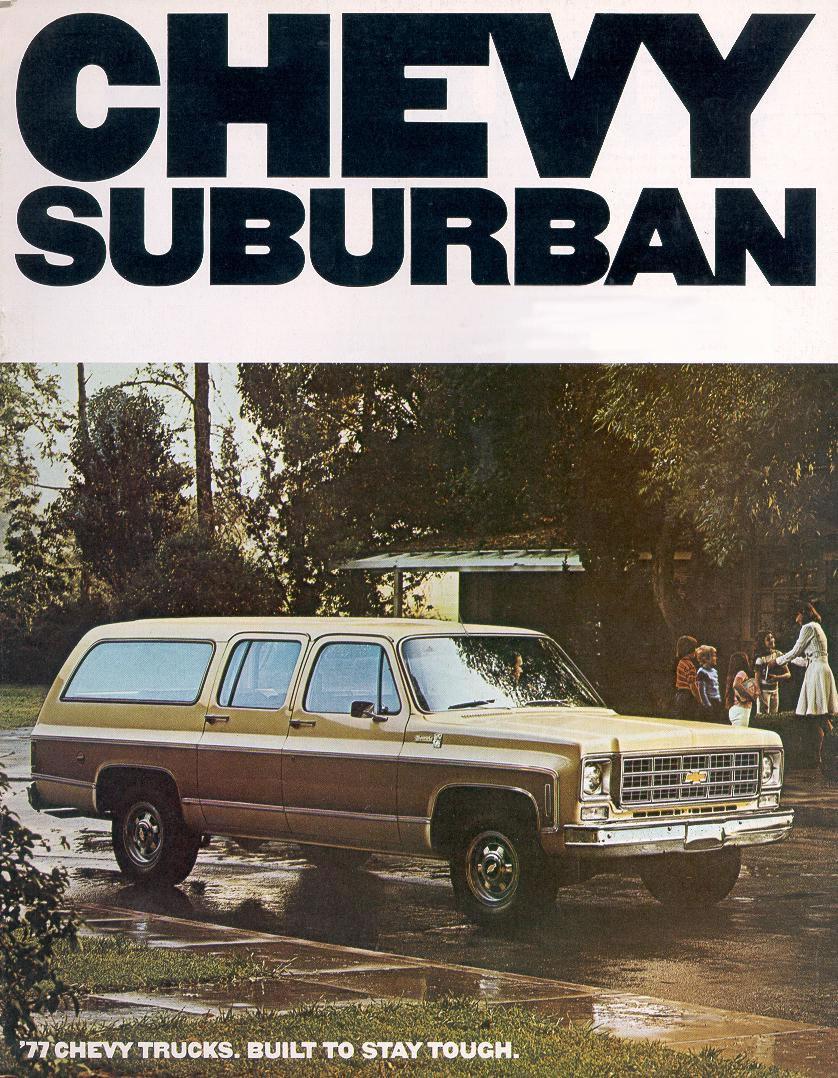 Chevrolet Suburban 1977 foto - 1