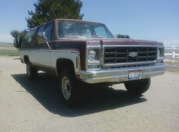 Chevrolet Suburban 1979 foto - 4