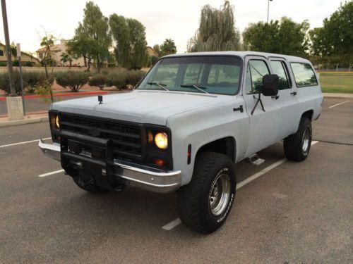 Chevrolet Suburban 1979 foto - 5