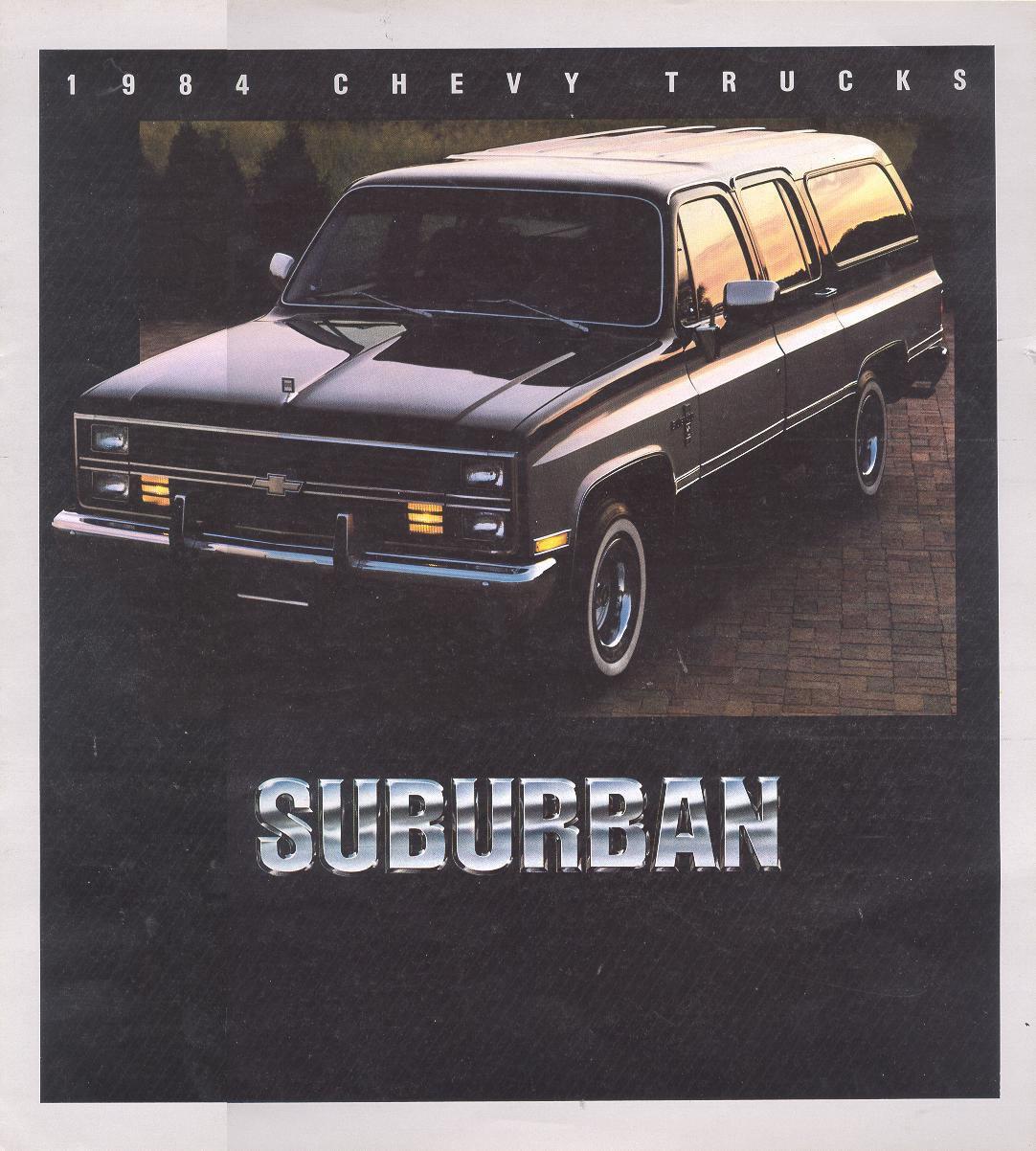 Chevrolet Suburban 1984 foto - 1
