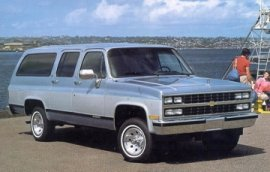 Chevrolet Suburban 1989 foto - 3