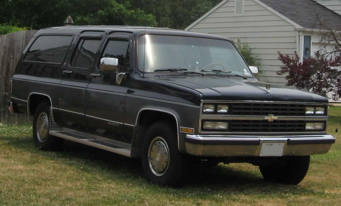 Chevrolet Suburban 1989 foto - 5