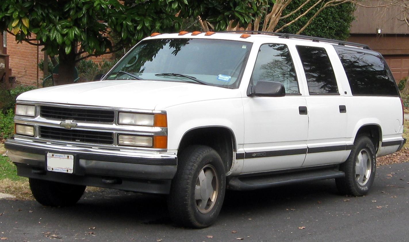 Chevrolet Suburban 1991 foto - 5