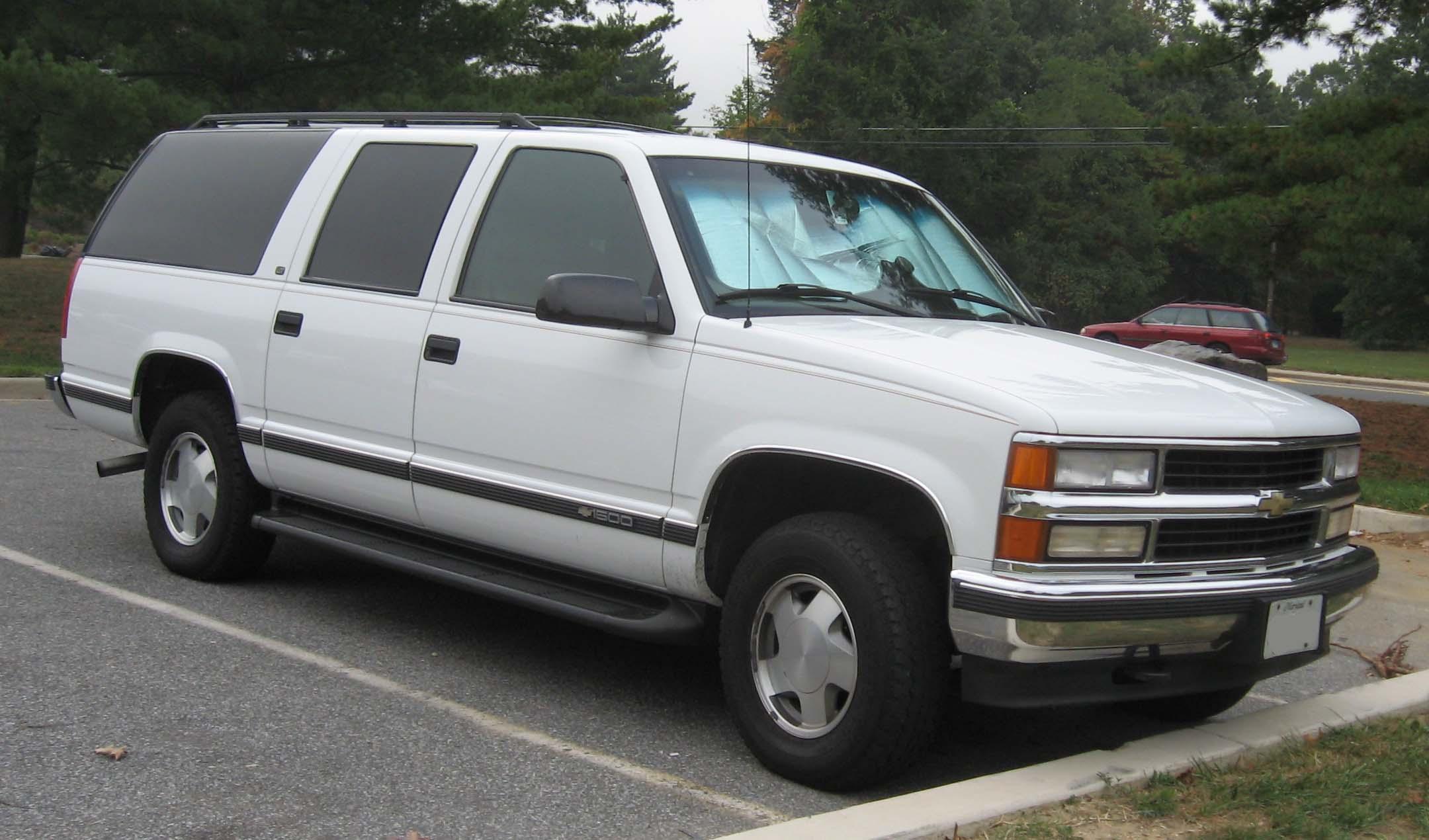 Chevrolet Suburban 1992 foto - 2