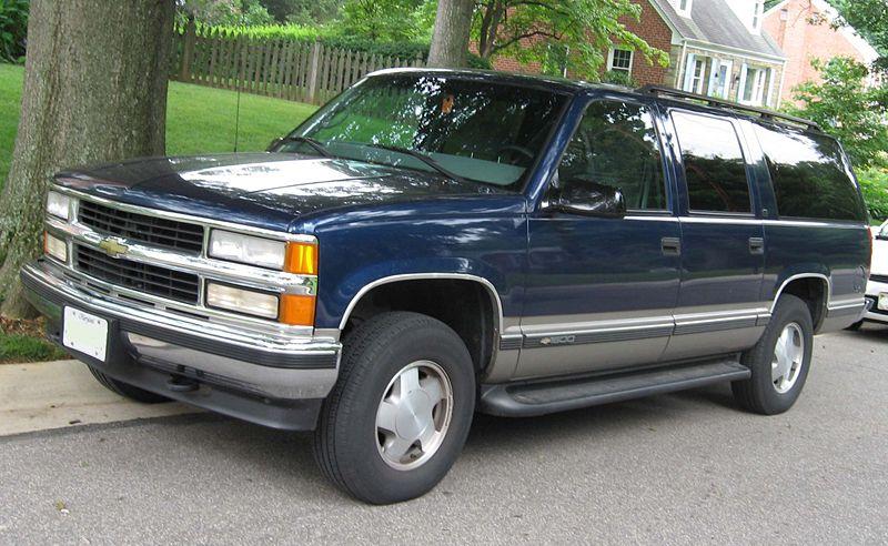 Chevrolet Suburban 1996 foto - 1