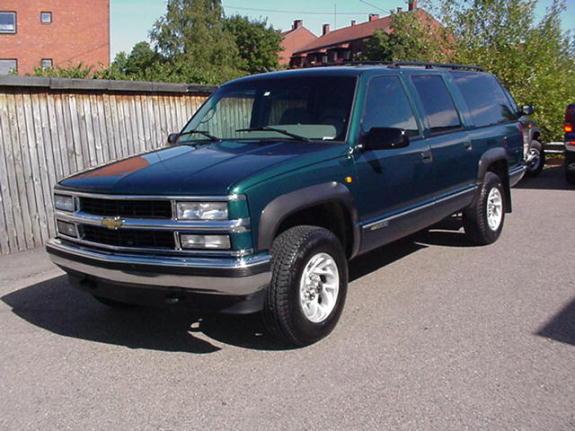Chevrolet Suburban 1996 foto - 2