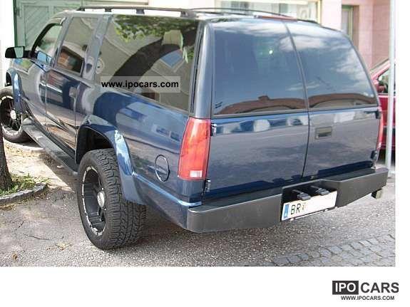 Chevrolet Suburban 1996 foto - 5